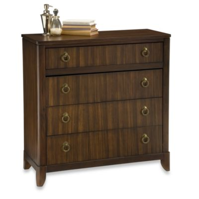 Home Styles Paris Mahogany Four Drawer Chest