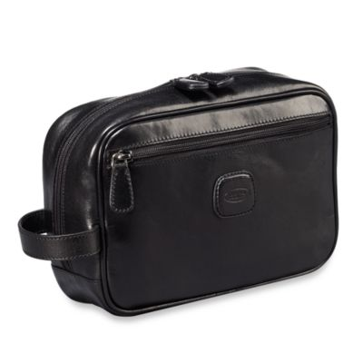 Bric's Shaving Case in Black