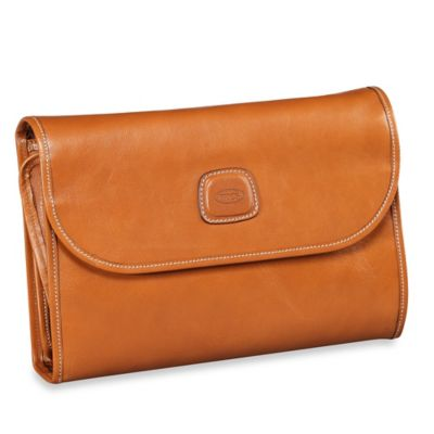 Bric's Cognac Travel Bag