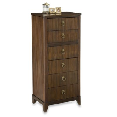 Home Styles Paris Mahogany Lingerie and Jewelry Chest