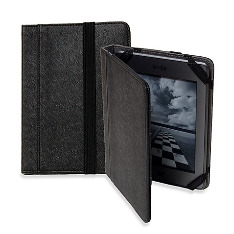 Sumdex®  Crosswork T Black Folio for Kindle/Kindle Touch