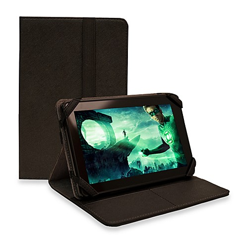 Sumdex®  Crosswork T Black Taiga Folio Stand for Kindle/Kindle Touch