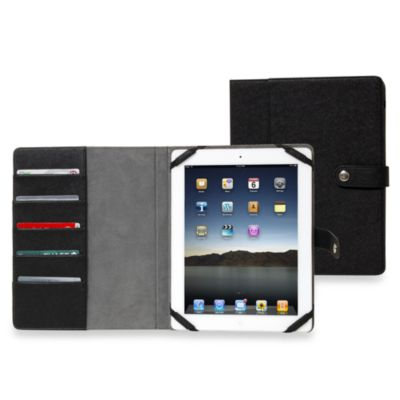 Sumdex® CrossWork T Black Folio for iPad