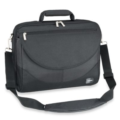 Sumdex® Large 17.3-Inch Black Computer Briefcase