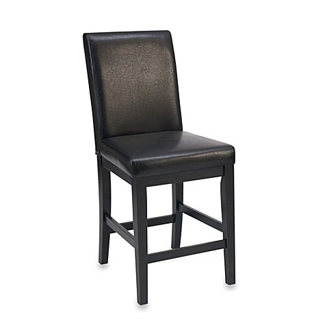 Home Styles Nantucket Barstool in Distressed Black