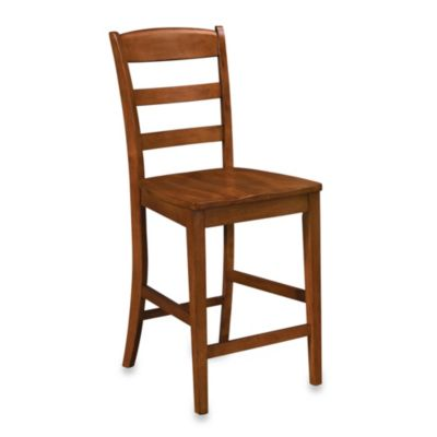 Home Styles Aspen Rustic Cherry Bar Stool