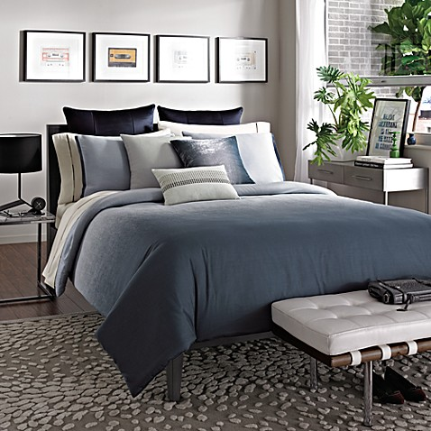 Kenneth Cole Reaction Home Hotel Comforter in Ink