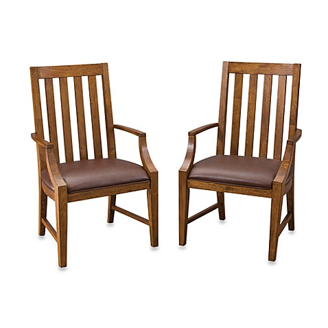 Home Styles Arts & Crafts Game Chair Pair (Set of 2)