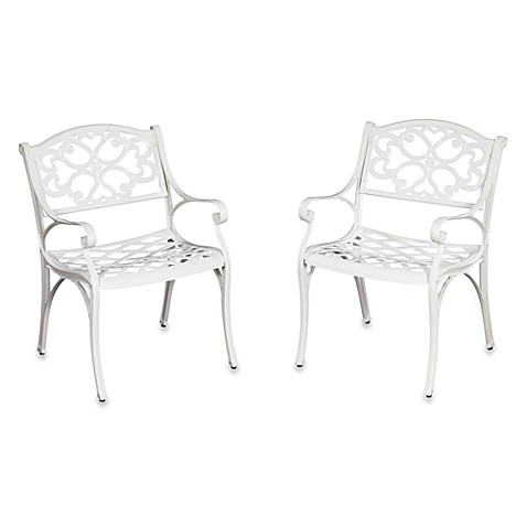 Home Styles Biscayne Arm Chair (Set of 2)