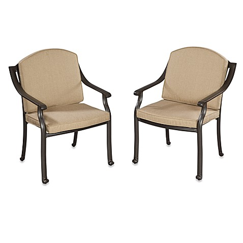 Home Styles Covington Cushioned Arm Chair (Set of 2)