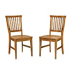 Home Styles Arts & Crafts Oak Dining Chair (Set of 2)