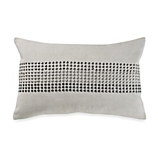 Kenneth Cole Reaction Home Hotel Studded Toss Pillow in Ink