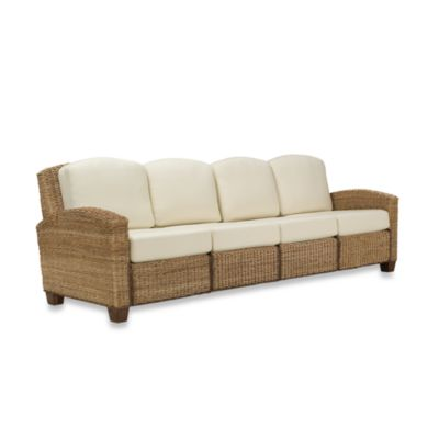 Home Styles Cabana Honey Oak Four Seat Sofa