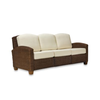 Home Styles Cabana Banana Cocoa Three Seat Sofa