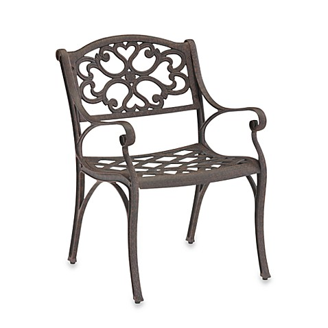 Home Styles Biscayne Dining Chair in Bronze (Set of 2)