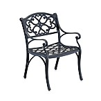 Home Styles Biscayne Dining Chair in Black (Set of 2)