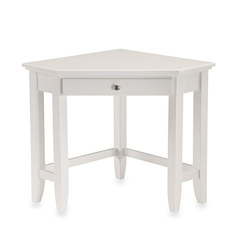 Home Styles Naples White Laptop Desk