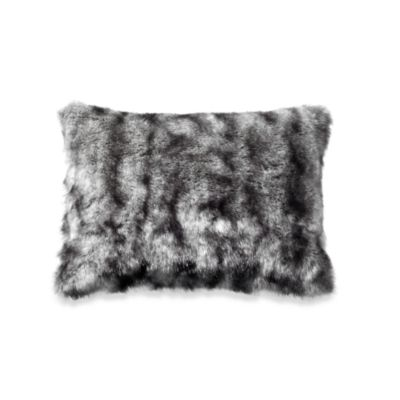 Kenneth Cole Reaction® Home Hotel Neutral Faux-Fur Toss Pillow