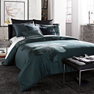 Kenneth Cole Reaction® Home Etched Floral Twin Comforter