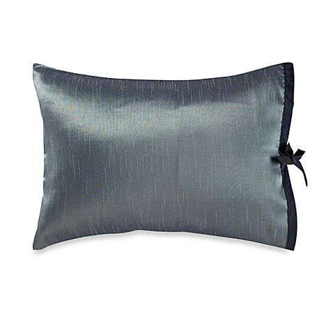 Kenneth Cole Reaction Home Etched Floral Oblong Toss Pillow