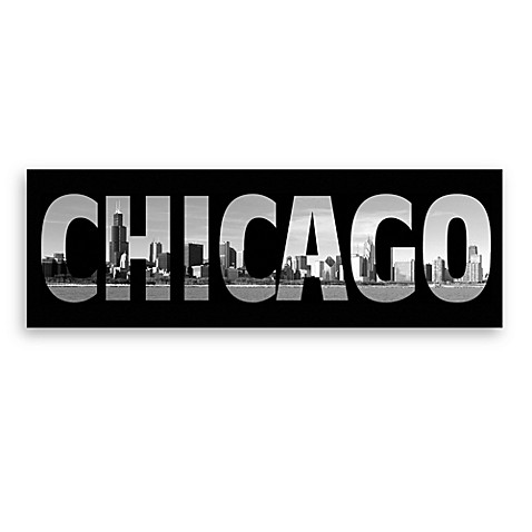 Chicago Black and White Wall Art