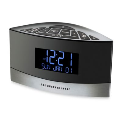 SoundSpa® Sound Soother Alarm Clock Radio