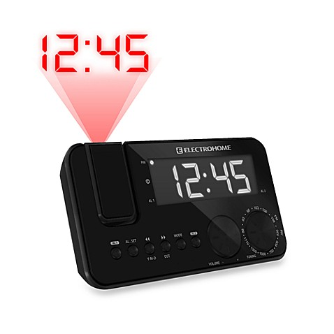 Electrohome EAAC500 AM/FM Projection Clock Radio