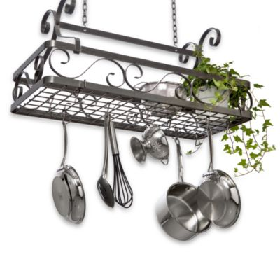 Enclume® Decor Collection Large Basket Rack