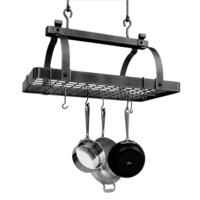 Enclume® Premier Collection Classic Rectangle Pot Rack with Grid (No Center Bar)