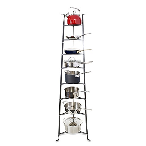 Enclume® Premier Collection 8-Tier Cookware Stand Knock Down