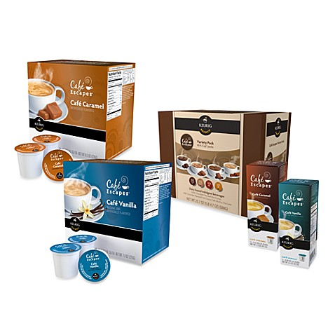 K-Cup® Cafe Escapes® Single Serves for Keurig®