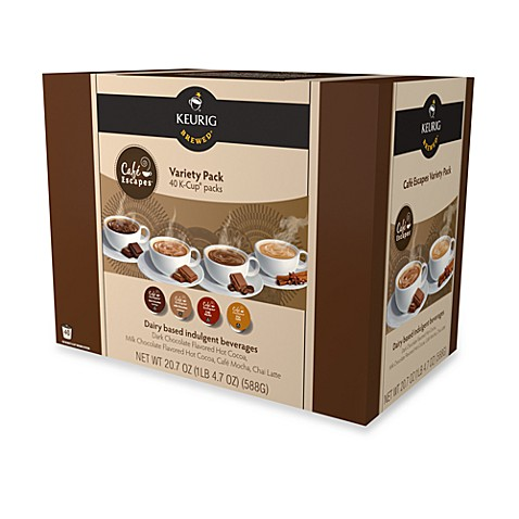 Keurig® K-Cup® Pack 40-Count Cafe Escapes® Variety Pack