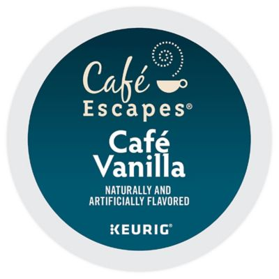 K-Cup® 16-Count Cafe Escapes® Cafe Vanilla for Keurig® Brewers