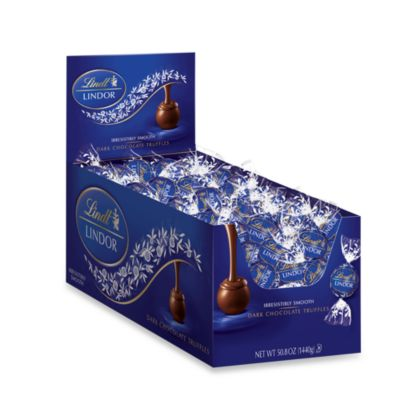 Lindt Lindor 120-Count Dark Chocolate Truffles