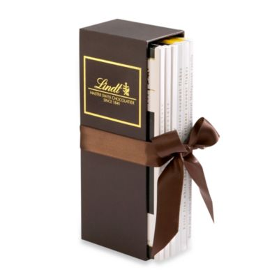 Lindt EXCELLENCE Chocolate Bar Gift Set in 6 Count