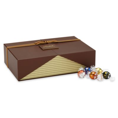Lindt Lindor 120-Count Chocolate Celebration Truffles Gift Box