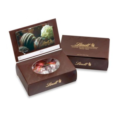 Lindt Lindor Truffles Business/Gift Card Gift Box