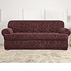 Sure Fit® Stretch Jacquard T-Cushion 2-Piece Sofa Slipcover