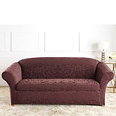 Sure Fit® Stretch Jacquard Damask Furniture Slipcovers