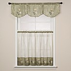 Rose Sage Window Curtain Tiers
