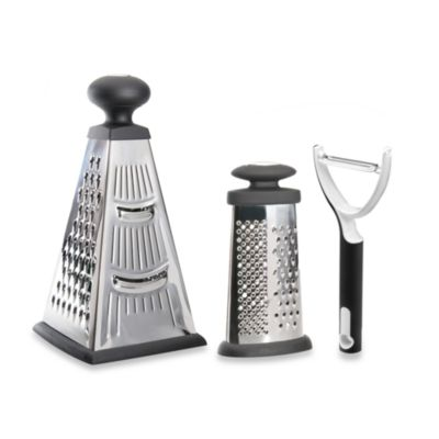 BergHOFF® Studio 2-Piece Grater Set with Peeler