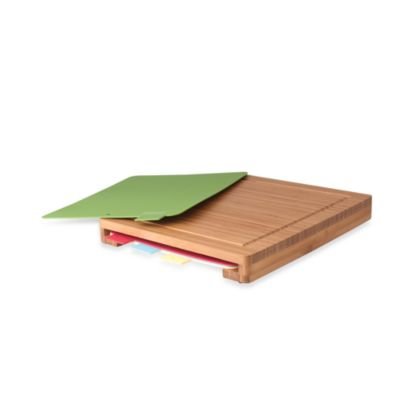 Bamboo Chopping Board 5-Piece Set