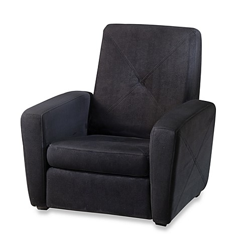 Home Styles Microfiber Gaming Chair & Ottoman