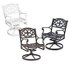 Home Styles Biscayne Swivel Dining Chair