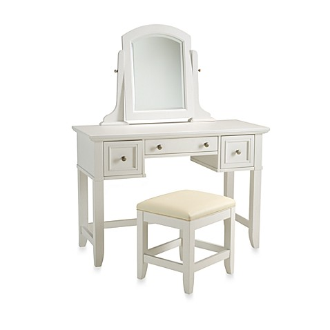 Buy Home Styles Naples White Vanity Amp Bench From Bed Bath