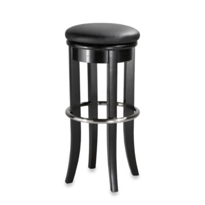 Home Styles 30-Inch Black Bar Stool