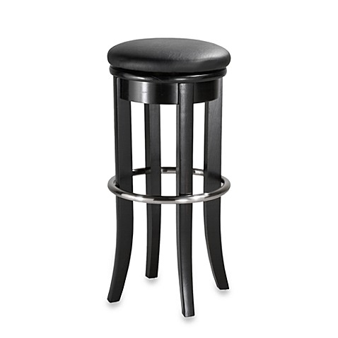 Home Styles 30-Inch Black Barstool