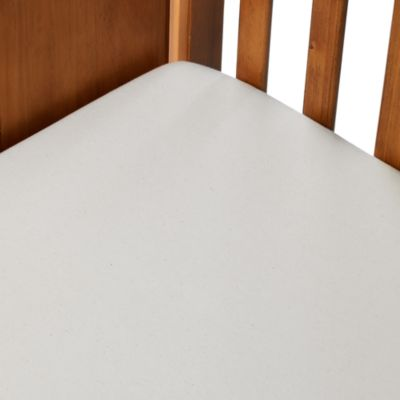 Organic Cotton Crib Sheet in Natural