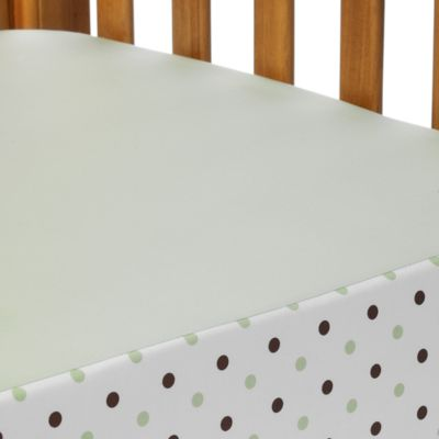 Celery Dot Baby Bedding