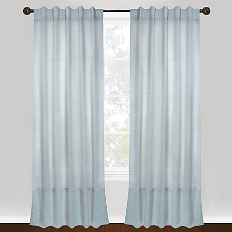 Park B. Smith Vintage House Eco Leno 100% Cotton Back Tab Window Curtain Panels